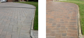 Driveway Before and After