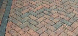 Block paving patio cleaning after
